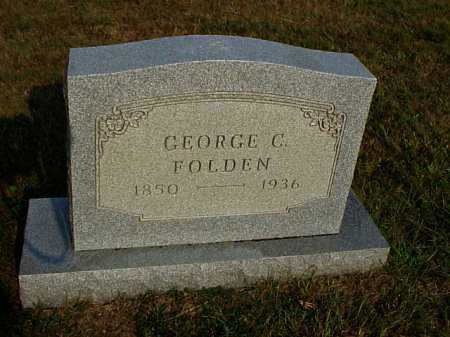 FOLDEN, GEORGE C. - Meigs County, Ohio | GEORGE C. FOLDEN - Ohio Gravestone Photos