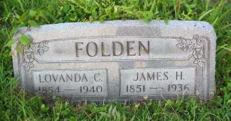 FOLDEN, LOVANDA C. - Meigs County, Ohio | LOVANDA C. FOLDEN - Ohio Gravestone Photos