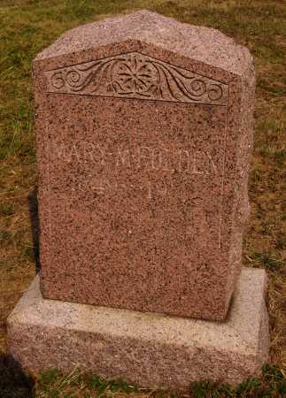 FARLEY FOLDEN, MARY MAGDALINE - Meigs County, Ohio | MARY MAGDALINE FARLEY FOLDEN - Ohio Gravestone Photos