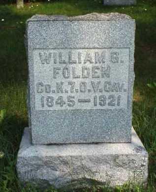 FOLDEN, WILLIAM G. - Meigs County, Ohio   WILLIAM G. FOLDEN - Ohio Gravestone Photos
