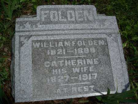 FOLDEN, WILLIAM - Meigs County, Ohio | WILLIAM FOLDEN - Ohio Gravestone Photos