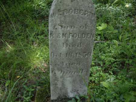 FOLDEN, WILLIAM ROBERT - Meigs County, Ohio | WILLIAM ROBERT FOLDEN - Ohio Gravestone Photos