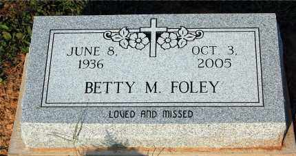 FOLEY, BETTY M. - Meigs County, Ohio | BETTY M. FOLEY - Ohio Gravestone Photos
