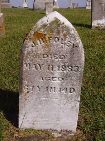 FOLEY, J.B. - Meigs County, Ohio | J.B. FOLEY - Ohio Gravestone Photos
