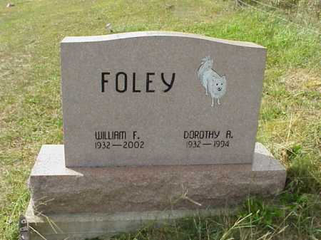 FOLEY, DOROTHY A. - Meigs County, Ohio | DOROTHY A. FOLEY - Ohio Gravestone Photos