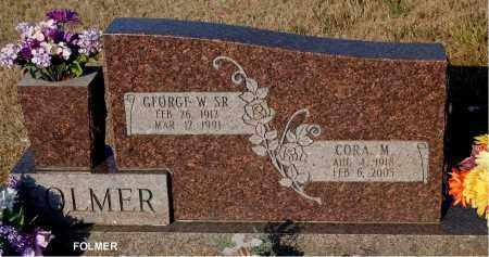 FOLMER, GEORGE W. - Meigs County, Ohio   GEORGE W. FOLMER - Ohio Gravestone Photos