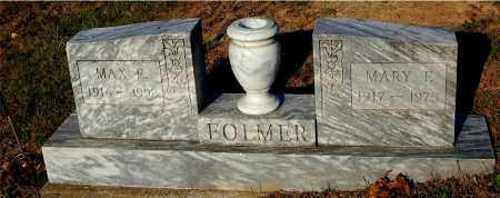 FOLMER, MAX E. - Meigs County, Ohio | MAX E. FOLMER - Ohio Gravestone Photos