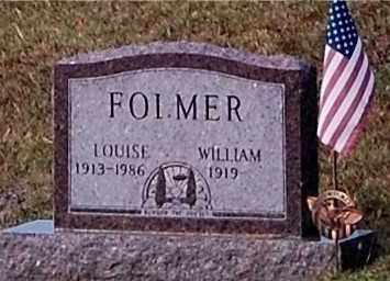 FOLMER, WILLIAM - Meigs County, Ohio   WILLIAM FOLMER - Ohio Gravestone Photos