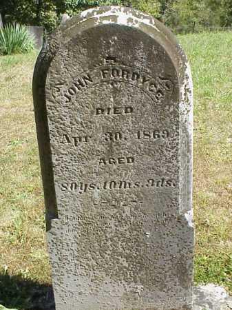 FORDYCE, JOHN - Meigs County, Ohio | JOHN FORDYCE - Ohio Gravestone Photos