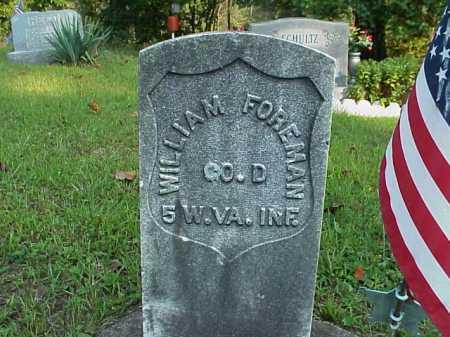 FOREMAN, WILLIAM - Meigs County, Ohio | WILLIAM FOREMAN - Ohio Gravestone Photos
