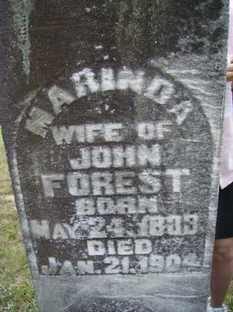 FOREST, MARINDA - CLOSEVIEW - Meigs County, Ohio | MARINDA - CLOSEVIEW FOREST - Ohio Gravestone Photos
