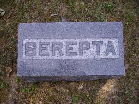 FORREST, SEPERTA - FOOTSTONE - Meigs County, Ohio | SEPERTA - FOOTSTONE FORREST - Ohio Gravestone Photos