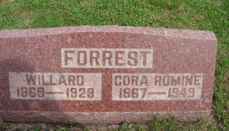FORREST, WILLARD - Meigs County, Ohio | WILLARD FORREST - Ohio Gravestone Photos