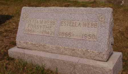 WEBB, ESTELLA - Meigs County, Ohio | ESTELLA WEBB - Ohio Gravestone Photos