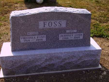 FOSS, JEFFREY LYNN - Meigs County, Ohio | JEFFREY LYNN FOSS - Ohio Gravestone Photos