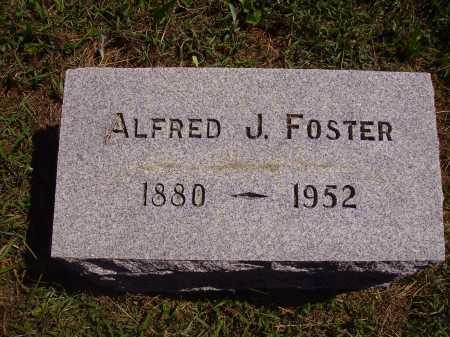FOSTER, ALFRED J. - Meigs County, Ohio | ALFRED J. FOSTER - Ohio Gravestone Photos