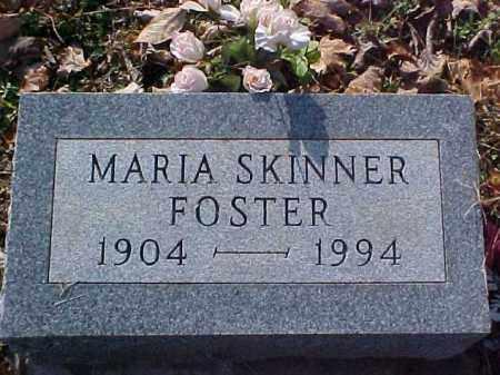 SKINNER FOSTER, MARIA - Meigs County, Ohio | MARIA SKINNER FOSTER - Ohio Gravestone Photos