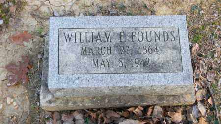 FOUNDS, WILLIAM FRANKLIN/MCCLELLAN - Meigs County, Ohio | WILLIAM FRANKLIN/MCCLELLAN FOUNDS - Ohio Gravestone Photos