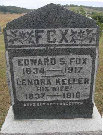 FOX, EDWARD S. - Meigs County, Ohio | EDWARD S. FOX - Ohio Gravestone Photos