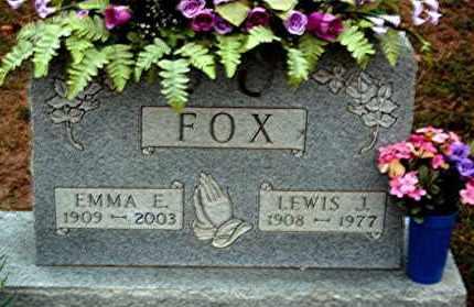 FOX, LEWIS J. - Meigs County, Ohio | LEWIS J. FOX - Ohio Gravestone Photos