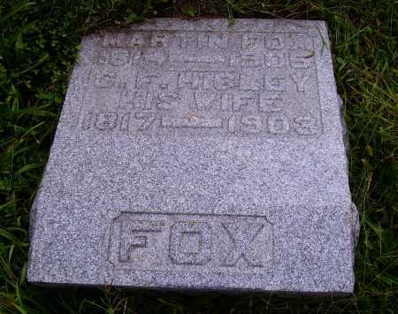 FOX, MARTIN - Meigs County, Ohio | MARTIN FOX - Ohio Gravestone Photos