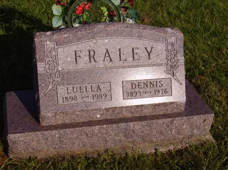FRALEY, LUELLA - Meigs County, Ohio | LUELLA FRALEY - Ohio Gravestone Photos