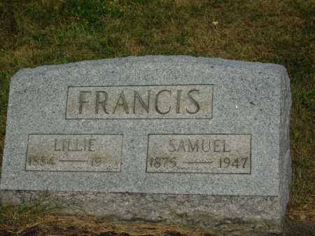 RATHBURN FRANCIS, LILLIE - Meigs County, Ohio | LILLIE RATHBURN FRANCIS - Ohio Gravestone Photos