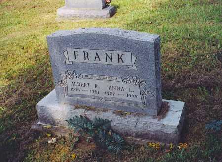 HYSELL FRANK, ANNA L. - Meigs County, Ohio | ANNA L. HYSELL FRANK - Ohio Gravestone Photos