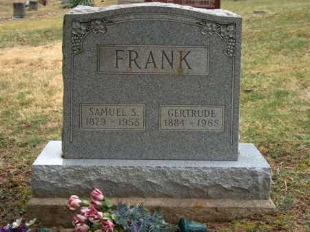 FRANK, GERTRUDE - Meigs County, Ohio | GERTRUDE FRANK - Ohio Gravestone Photos