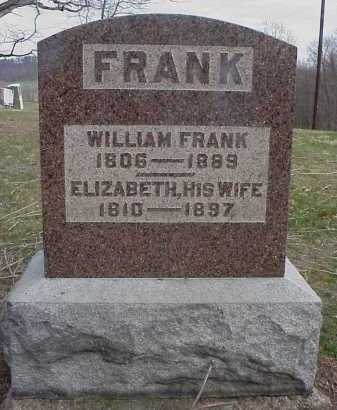 FRANK, WILLIAM - Meigs County, Ohio | WILLIAM FRANK - Ohio Gravestone Photos
