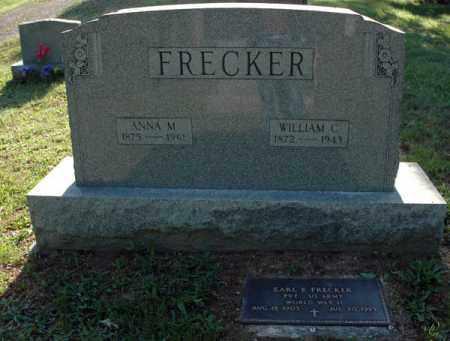 KAUTZ FRECKER, ANNA M. - Meigs County, Ohio | ANNA M. KAUTZ FRECKER - Ohio Gravestone Photos