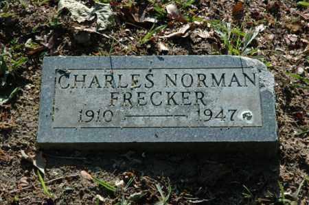 FRECKER, CHARLES NORMAN - Meigs County, Ohio   CHARLES NORMAN FRECKER - Ohio Gravestone Photos