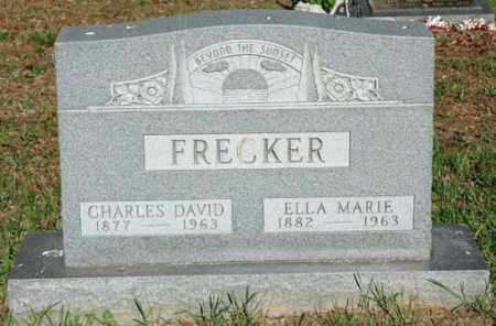 FRECKER, ELLA MARIE - Meigs County, Ohio | ELLA MARIE FRECKER - Ohio Gravestone Photos