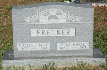 BAUM FRECKER, ELLA MARIE - Meigs County, Ohio | ELLA MARIE BAUM FRECKER - Ohio Gravestone Photos