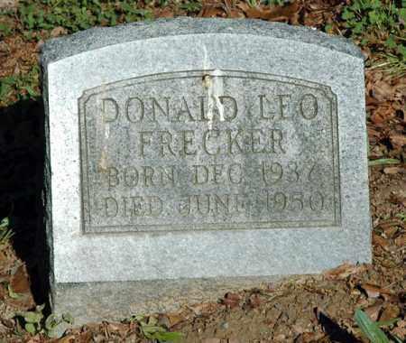 FRECKER, DONALD LEO - Meigs County, Ohio | DONALD LEO FRECKER - Ohio Gravestone Photos