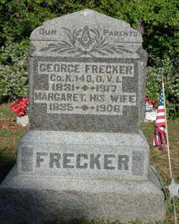 GENHEIMER FRECKER, MARGARET - Meigs County, Ohio | MARGARET GENHEIMER FRECKER - Ohio Gravestone Photos