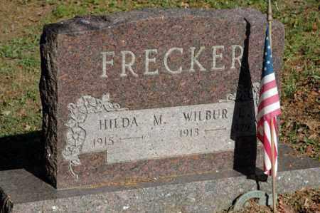 FRECKER, WILBUR L. - Meigs County, Ohio | WILBUR L. FRECKER - Ohio Gravestone Photos
