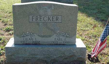 FRECKER, LILAH IRENE - Meigs County, Ohio | LILAH IRENE FRECKER - Ohio Gravestone Photos