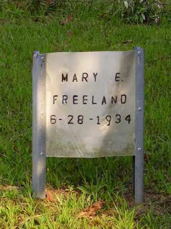FREELAND, MARY E. - Meigs County, Ohio | MARY E. FREELAND - Ohio Gravestone Photos