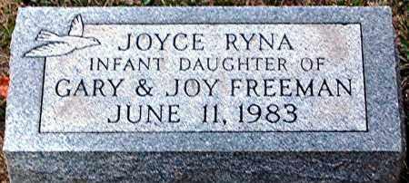 FREEMAN, JOYCE RYNA - Meigs County, Ohio   JOYCE RYNA FREEMAN - Ohio Gravestone Photos