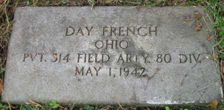 FRENCH, DANA DAY - Meigs County, Ohio | DANA DAY FRENCH - Ohio Gravestone Photos