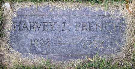 FRENCH, HARVEY L. - Meigs County, Ohio   HARVEY L. FRENCH - Ohio Gravestone Photos