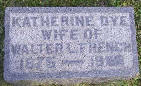 FRENCH, KATHERINE - Meigs County, Ohio | KATHERINE FRENCH - Ohio Gravestone Photos