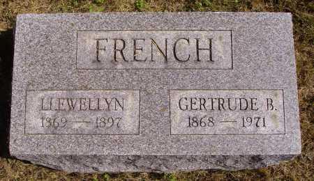 FRENCH, GERTRUDE B. - Meigs County, Ohio | GERTRUDE B. FRENCH - Ohio Gravestone Photos