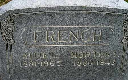 FRENCH, MORTON FORD - Meigs County, Ohio | MORTON FORD FRENCH - Ohio Gravestone Photos