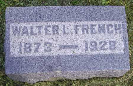 FRENCH, WALTER L. - Meigs County, Ohio | WALTER L. FRENCH - Ohio Gravestone Photos