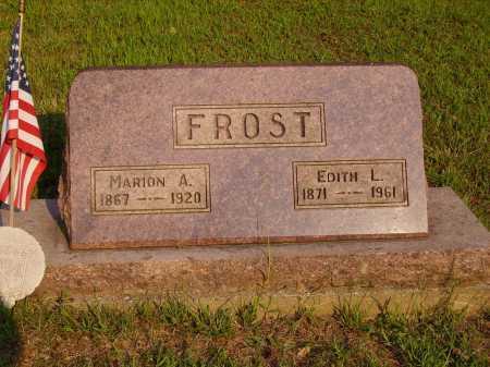 FROST, EDITH L. - Meigs County, Ohio | EDITH L. FROST - Ohio Gravestone Photos