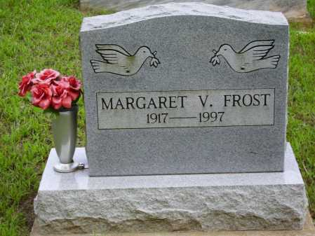FROST, MARGARET V. - Meigs County, Ohio | MARGARET V. FROST - Ohio Gravestone Photos