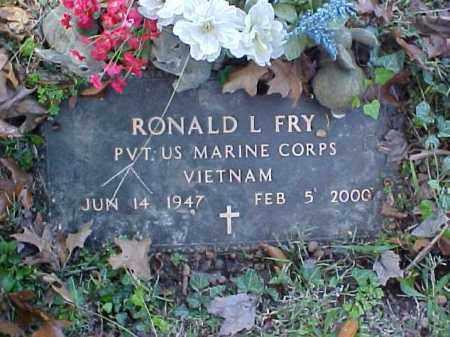 FRY, RONALD L. - Meigs County, Ohio | RONALD L. FRY - Ohio Gravestone Photos