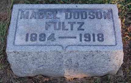 DODSON FULTZ, MABEL - Meigs County, Ohio | MABEL DODSON FULTZ - Ohio Gravestone Photos